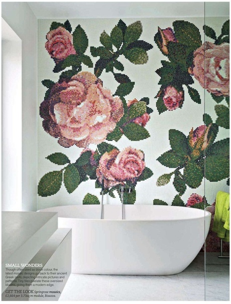 Décoration murale - Idées pour la salle de bains