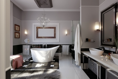 Awesome Salle De Bain Ancienne Moderne Ideas - Amazing House Design ...